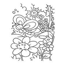 Spring Flower Coloring Pages Top 35 Free Printable Spring Coloring