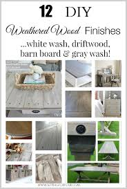 12 beautiful diy weathered wood stain finishes and techniques including white wash driftwood barn