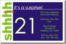 Surprise Party Invitation Template Archives