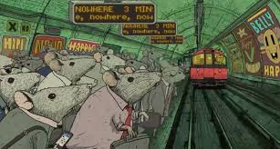 Image result for happiness movie by steve cutts