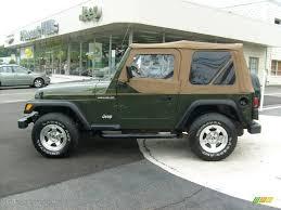 1997 Moss Green Pearl Jeep Wrangler Se 4x4 15812955 Photo 2