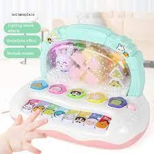 Bàn phím đồ chơi có đèn và nhạc cho bé