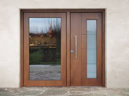 wood and glass safety door superior 16 5082 m16 by bauxt