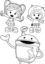 Small Picture Picture of Team Umizoomi Coloring Page Picture of Team Umizoomi