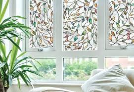 stick on window covering ideas l and adhesive decoratin