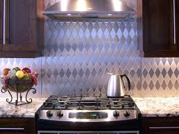 Kitchen Backsplash Panel Metal Tile Backsplashes Hgtv