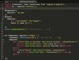 Atom HTML syntax highlight in template literals (for angular2 ...