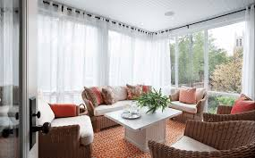 living room window treatments 2015. Modren 2015 Sheer White Wrap Around Curtains In Living Room Window Treatments 2015