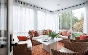sheer white wrap around curtains