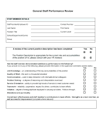 Examples Of Performance Review Self Performance Review Examples How To Make A Employee