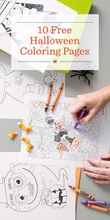 Halloween Coloring Pages Hallmark Ideas Inspiration