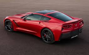 2014 corvette | 2014 Chevrolet Corvette Stingray In Red Rear Three ...