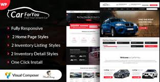 Auto Carforyou Responsive Car Dealer Wordpress Theme Free