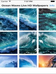 ocean waves wallpapers. Simple Ocean Ocean Waves Live HD Wallpapers On The App Store Inside P