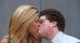Hot Geeky Boy And Girl Are Kissing Red River Valley Fair