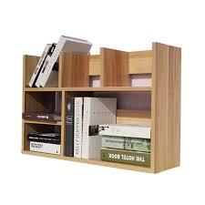 desktop office bookcase computer desk small bookshelf student easy shelves children storage rack