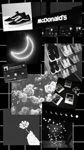 Cute White And Black Aesthetic Wallpaper