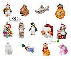 Christbaumschmuck Weihnachtskugeln Figuren Tiere Kreativmarkt Butterfly