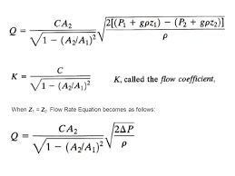 8 when z 1 z 2 flow rate equation becomes as follows