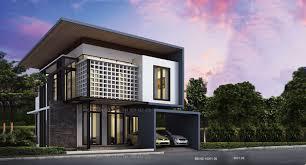 2 Storey Small House Design 3d. modern 2 story house modern 2 storey ...