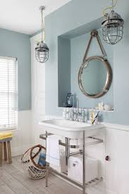 beach style bathroom. Plain Bathroom Bewitching Beadboard Wainscoting Home Interior Design Beach Style Bathroom  London And E
