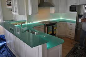 Small Picture Gorgeous Glass Kitchen Countertops Home Inspirations Design
