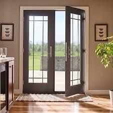 hinged patio doors swinging patio