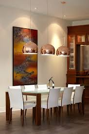 kitchen table lighting. Beautiful Dining Table Pendant Light Tables In Room Contemporary With Copper Kitchen Lighting