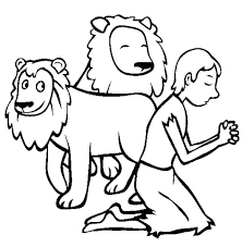 Small Picture Daniel And The Lions Den Coloring Sheet Coloring Pages Ideas