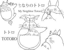 Small Picture Totoro Coloring Pages Printable Tags Totoro Coloring Pages