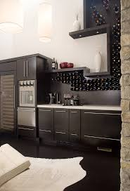 wine cabinet with glass rack home bar contemporary with beige countertop wine rack beige wall
