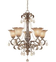 savoy house tracy porter nicolette 5 light chandelier in new mocha w hand painted column 1 1720 5 256