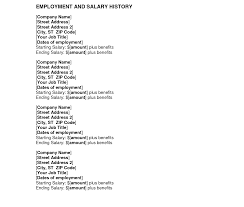 Salary History Cover Letter Resume Badak With And Photos Hd