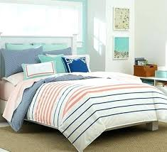 navy striped bedding nautical c and blue comforter white twin