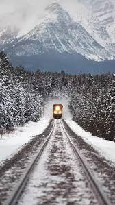 Train, here, mate, natural, winter ...