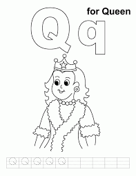 Princesses, princes, queens, kings, dignified horses and even unicorns are waiting for you to color them. A Queen Colouring Pages Coloring Home
