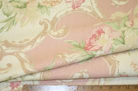 decor linen fabric multiuse: coseup of pattern and texture closeup of this laura ashley linen interior decorating fabric