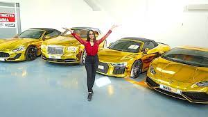 Not only are they in limited quantity, but the hypercar is one of the most customizable bugattis on the market. Dubai S Richest Gold Car Collection Youtube