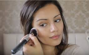 best ideas for makeup tutorials picture description step 6 dab in your blush cool college back to makeup tutorial you must try pinteres