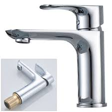 Water Tap Design Design Bath Bathroom Wash Basin Single Lever Water Tap Chrome Sanlingo