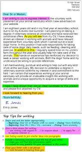 Cover Letter Useful Vocabulary Adriangatton Com