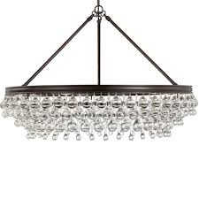 crystorama calypso 6 light crystal teardrop bronze chandelier