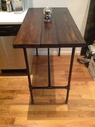 Custom Made Reclaimed Wood And Black Iron Pipe Table  CustomMadecom