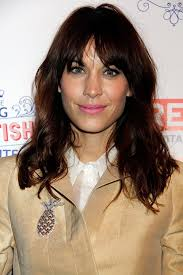 celebrity haircut alexa chung s bedhead bangs
