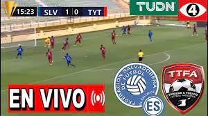 El Salvador Vs Trinidad Y Tobago copa ...