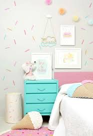 sweet treat themed girl s room with washi tape wall decor on wall art room decor ideas with 24 wall decor ideas for girls rooms