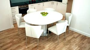 round dining tables for 6 captivating extending table and chairs modern white gloss dinner chair set