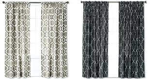 curtains target now through april 13th targetcom is offering 30 off select window items no promo code is gray chevron