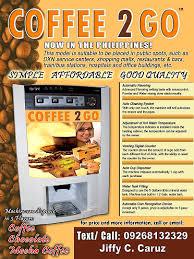 Vending Coffee Machine Philippines Extraordinary Coffee 48 Go Machine Now In The Philippines Entrepreneur Philippines
