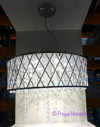 costco dsi lighting 6 light led adjule pendant 99 99